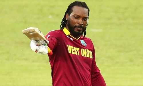 Gayle to take field against India in T20