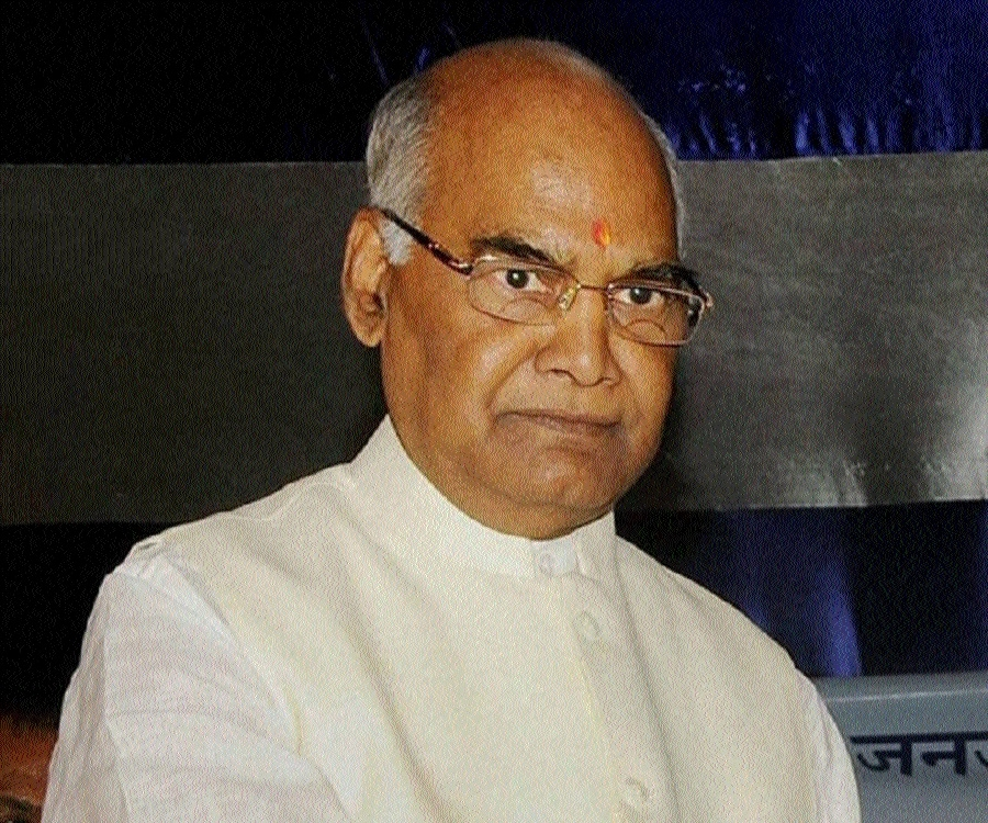 NDA Presidential candidate Kovind arriving on July 8