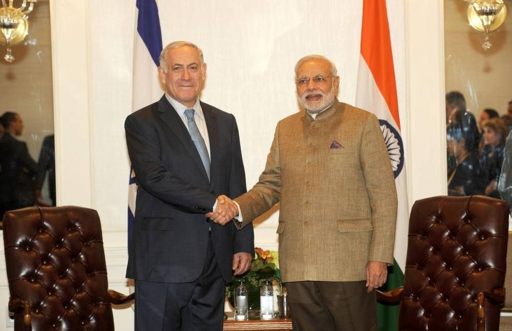 India & Israel - Silver Jubilee of diplomatic relations