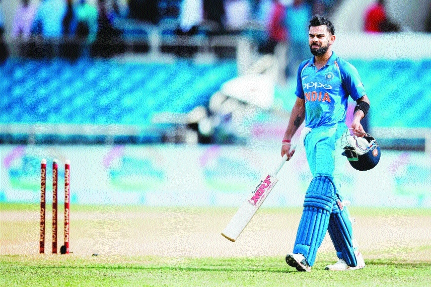 Briliant Virat leads India to 3-1 series win over WI