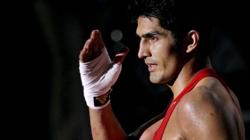 Vijender eyeing another knock-out punch