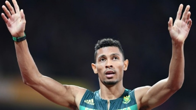 Niekerk coasts, Frenchman Bosse's 800m