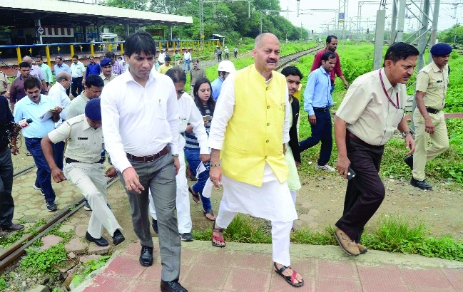 Railway Board members inspect Bhopal, Habibganj stns