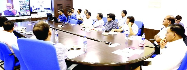 Video conference on 'New India Manthan' concludes