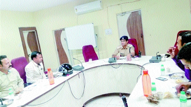 SP Bahuguna reviews security in malls