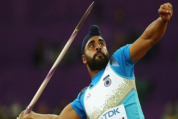 Kang enters javelin final