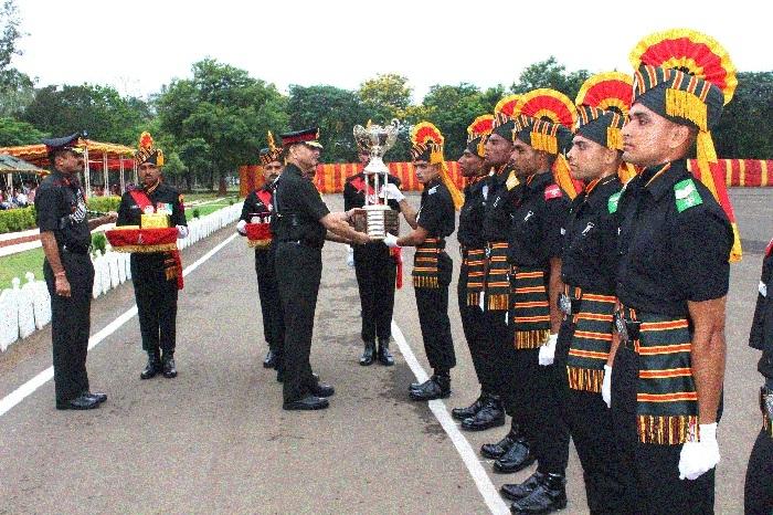 331 recruits shine at passing out parade at JAK RRC