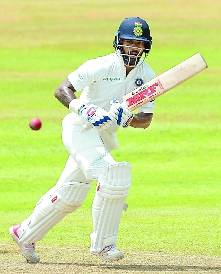 DHAWAN FIRES, MIDDLE ORDER MISFIRES