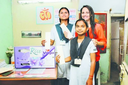 RISE HELPING GIRLS RISE ABOVE MENSTRUAL MYTHS