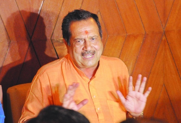 Ansari has become a communal Congressman: Indresh Kumar