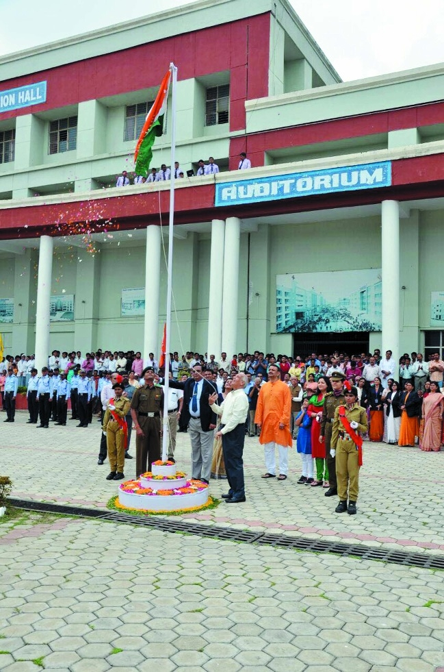 People's University celebrates Independence Day with fervour