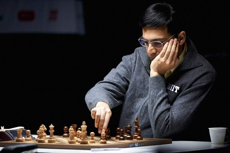 Anand finishes joint eighth in St Louis Rapid