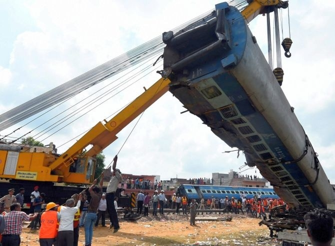 Negligence caused UP train mishap: Officials