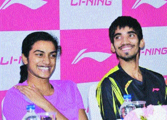Srikanth, Sindhu lead India's charge