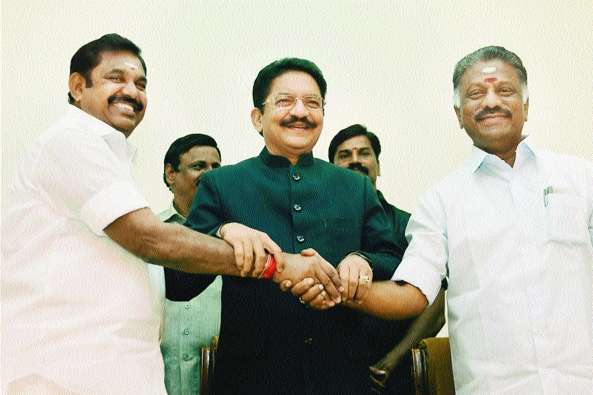 AIADMK factions merge; OPS takes oath as TN Dy CM
