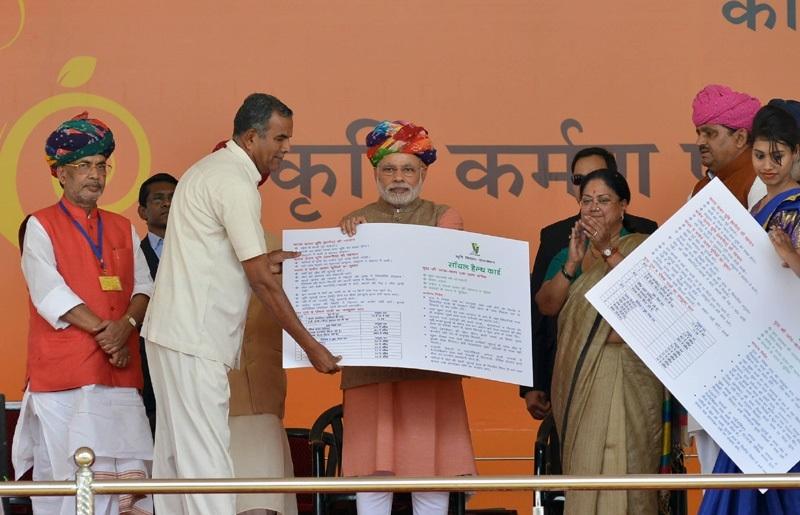 Modi reviews soil health cards scheme