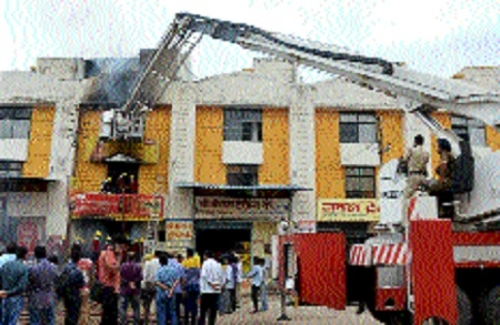 Major fire breaks out at incense stick shop, stock worth Rs 50 lakh gutted