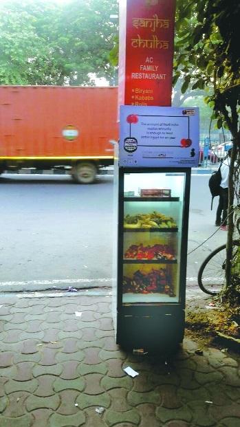 Kolkata gets 'Food ATM' to help curb food wastage, feed needy