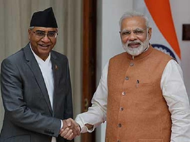 Won't allow anti-India activity, assures Deuba