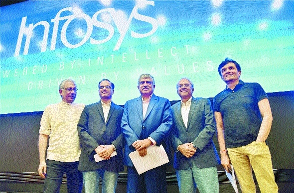 Nilekani seeks to allay fears of Infosys investors, staffers
