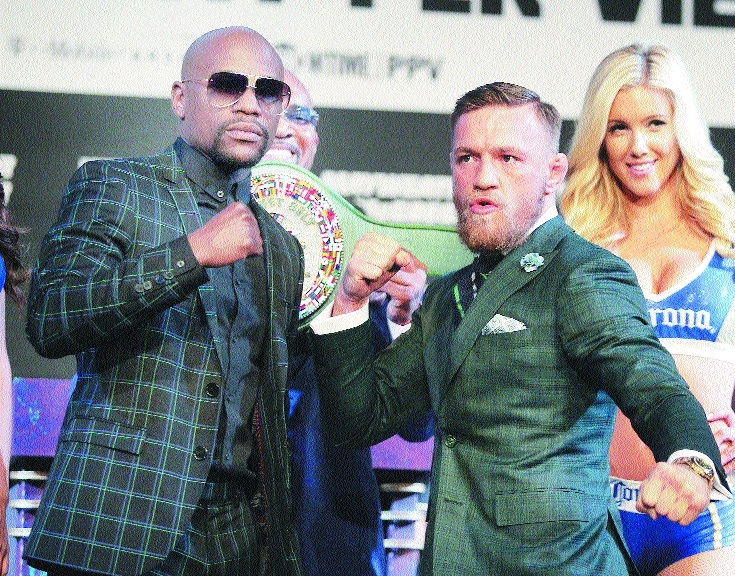 Hype meets reality Mayweather, McGregor face off