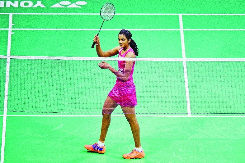 Sindhu assured of bronze