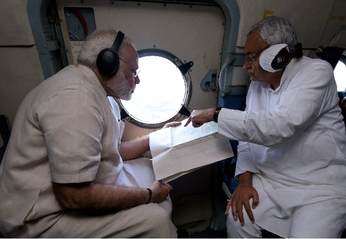 PM announces Rs 500 cr relief for flood-hit Bihar