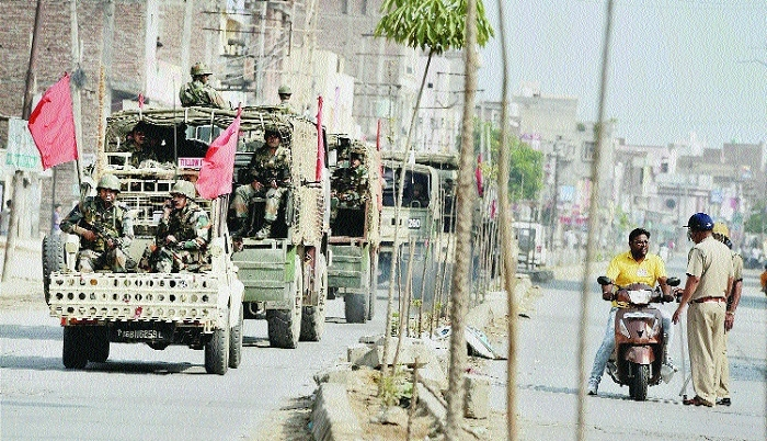Uneasy calm in Haryana, toll 36