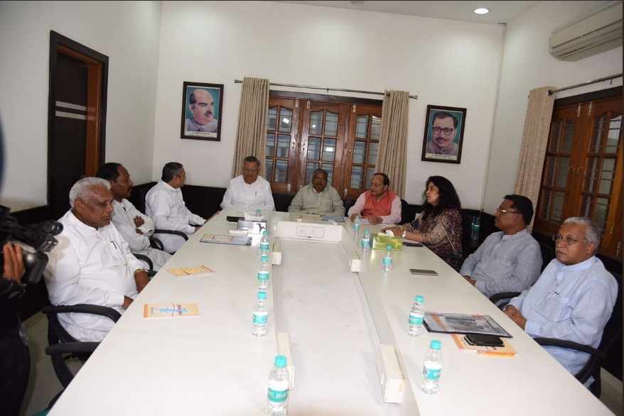 BJP National General Secy chairs BJP State Core Group meet