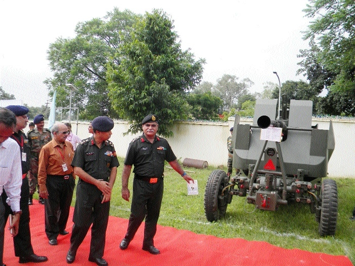 Defence Equipment Exhibition inaugurated