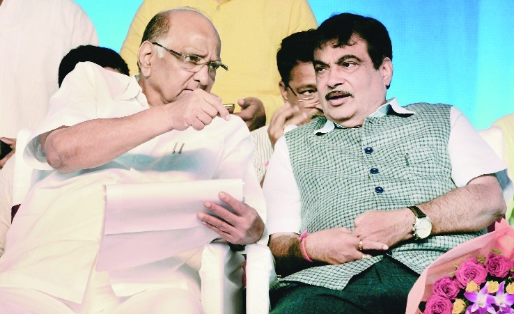 Some officials have to be chased with stick for not doing work, says Gadkari