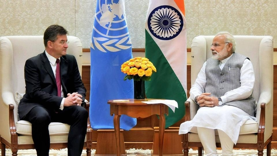 UNGA President-elect meets Modi; discusses terrorism, UN reforms
