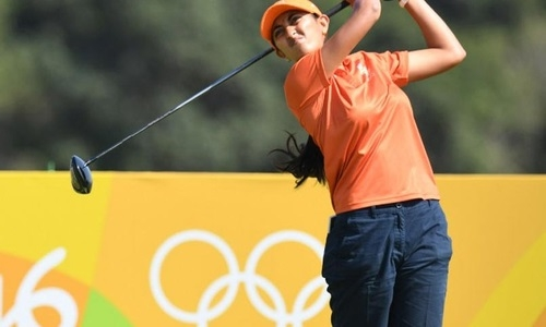 Golfer Aditi ready for Women's British Open
