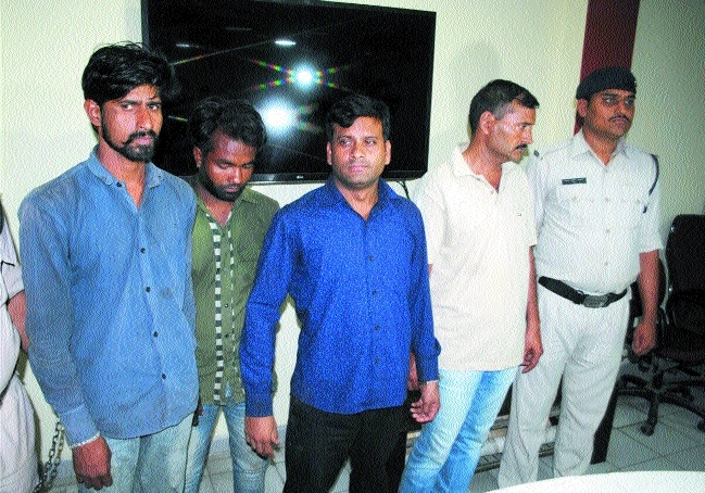 Ex-Armyman among 8 held for kidnapping