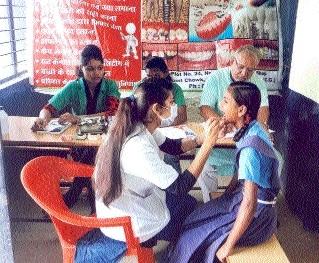 Free dental check-up camp held
