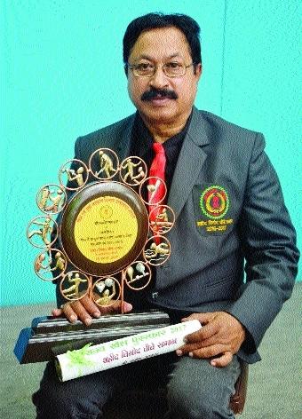 Samir Sarkar from BSP accorded 'Shaheed Vinod Choube Samman'