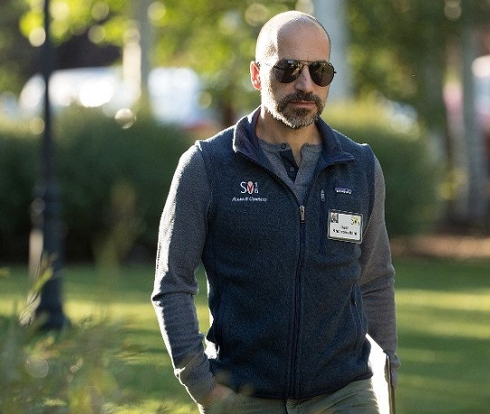 Uber hires Dara Khosrowshahi as Chief Executive
