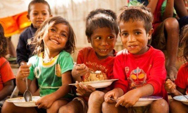 Decline in number of malnourished children