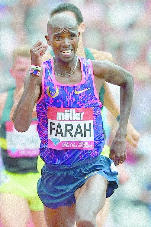 Farah bids for final double golden fanfare