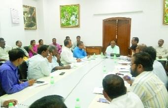 Gram Sevaks' delegation meets Anoop Kumar