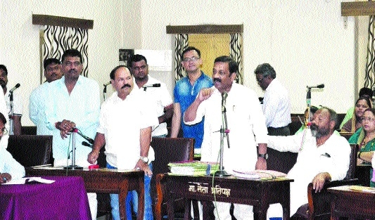 Garbage collection issue rocks JMC meeting