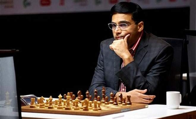 Anand held by Svidler