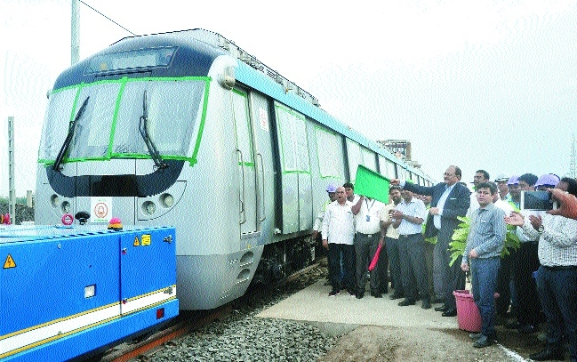 'Nagpur Metro service likely by year end'