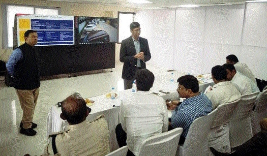 ITMS workshop held under Smart City project