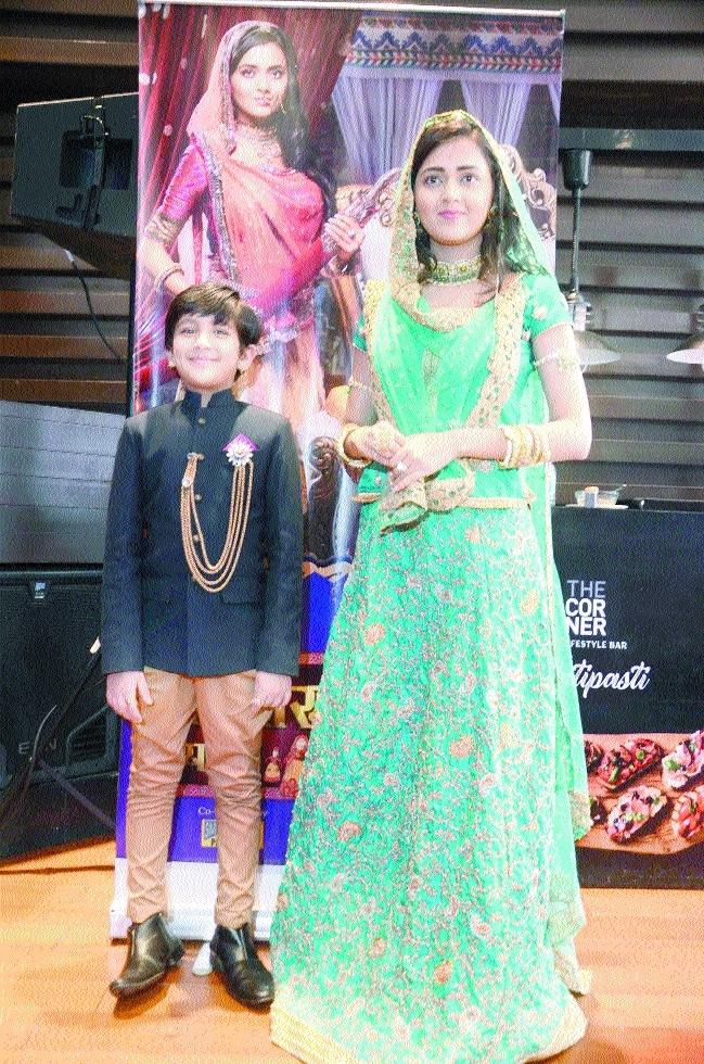 Lead actors of show 'Pehredaar Piya Ki' in City of Lakes