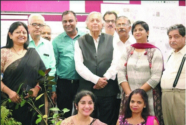 Architect Raj Rewal delivers talk at MANIT
