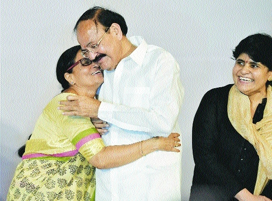 Venkaiah a witty one-liner Vice President