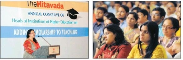 'Adding scholarship to teaching has immense importance'