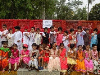 Cobra Army School students celebrate Raksha Bandhan