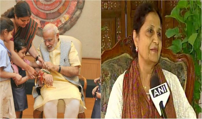Pak-origin sister ties rakhi to Modi